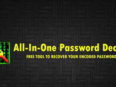 WebSphere Password Decoder